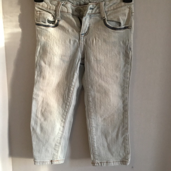 eb1685bdc Vitamin Z Jeans Bottoms | Whitewashed Cropped Girls | Poshmark